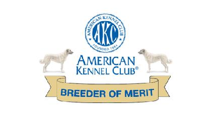 ZKC Breeder of Merit